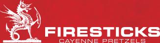 Firesticks Cayenne Pretzels