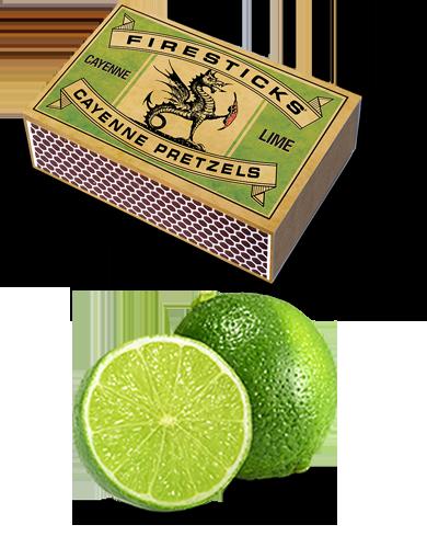 Lime Cayenne Pretzels